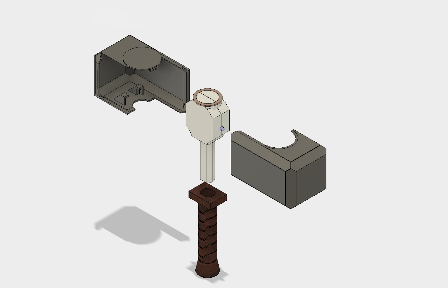 I really like the way the hammer fits together. A small part of the design was serendipitous.
