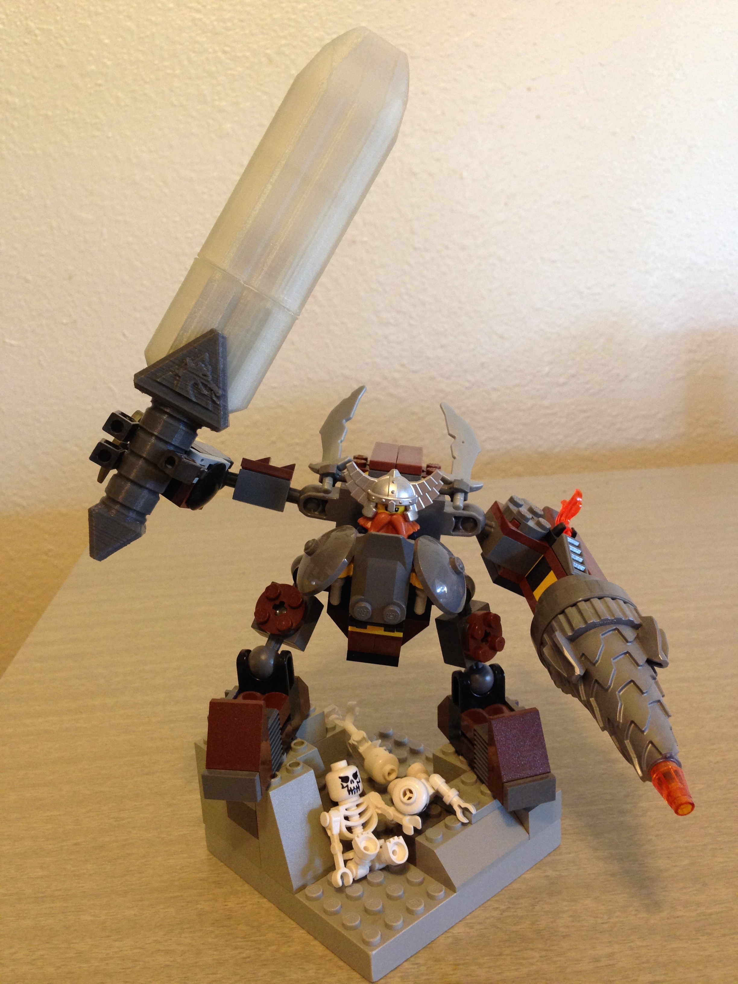 By the power of LEGO!